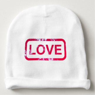 """Cotton beanie hat """"LOVE"""" Baby Beanie"""