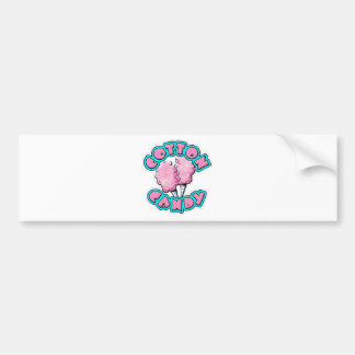 Cotton Candy Bumper Sticker
