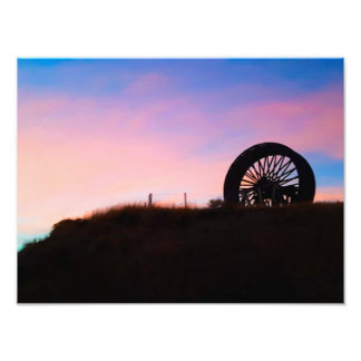Cotton Candy Clouds Photo Print