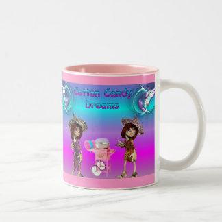 Cotton Candy Dreams Two-Tone Coffee Mug