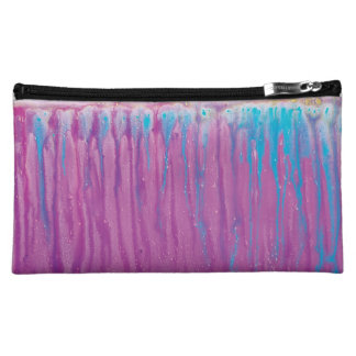 Cotton Candy Drip Makeup Bag