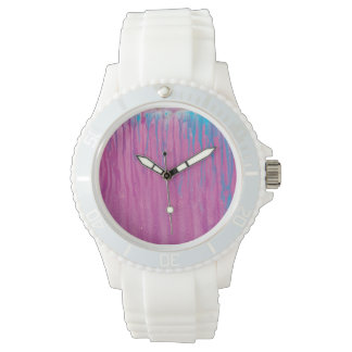 Cotton Candy Drip Watch