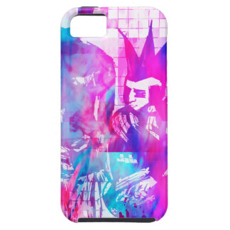 Cotton Candy Goth Girl and Punk Dude iPhone 5 Case