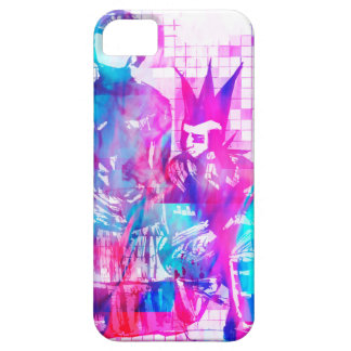 Cotton Candy Goth Girl and Punk Dude iPhone 5 Covers