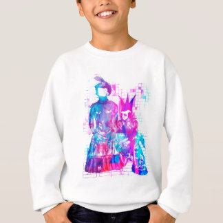 Cotton Candy Goth Girl and Punk Dude Sweatshirt