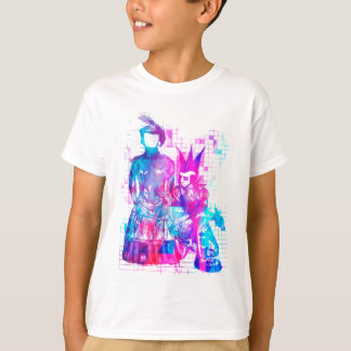 Cotton Candy Goth Girl and Punk Dude T-Shirt
