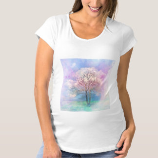 Cotton Candy Maternity T-Shirt