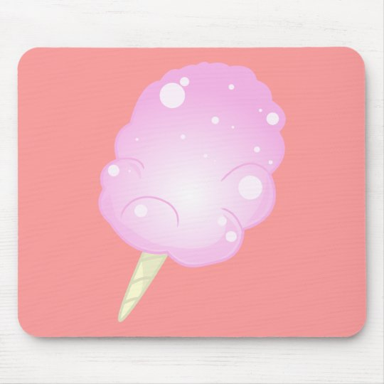 Cotton Candy Mousepad - pink