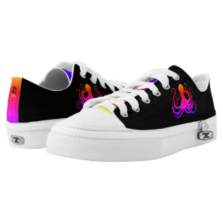 Cotton Candy Octopus - Low Top Sneakers