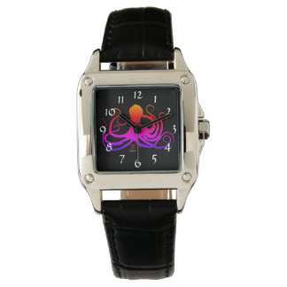 Cotton Candy Octopus - Women's Square Watch
