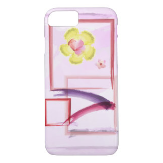 Cotton Candy Pink Watercolor iPhone 8/7 Case