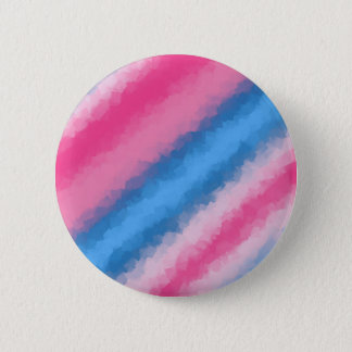 Cotton Candy Rainbow Colors 2 Inch Round Button