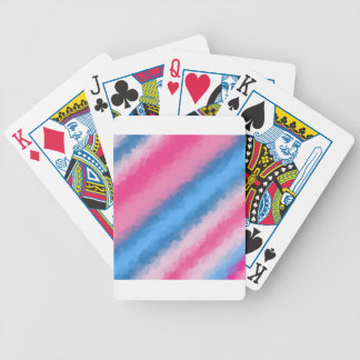 Cotton Candy Rainbow Colors Bicycle Playing Cards