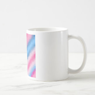 Cotton Candy Rainbow Colors Coffee Mug
