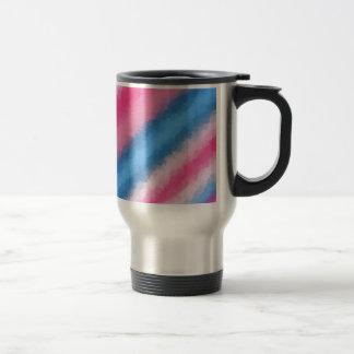 Cotton Candy Rainbow Colors Travel Mug