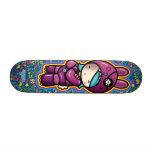 cotton candy skateboard