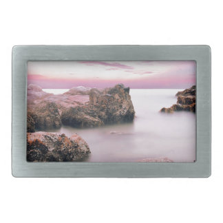 Cotton Candy Sky Belt Buckles