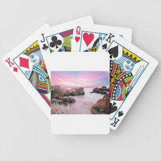 Cotton Candy Sky Bicycle Playing Cards