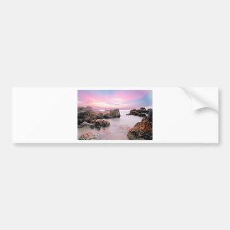 Cotton Candy Sky Bumper Sticker