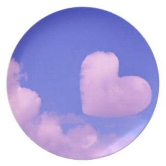 Cotton Candy Sky Plate