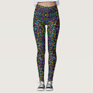 Cotton Candy Sprinkles Leggings