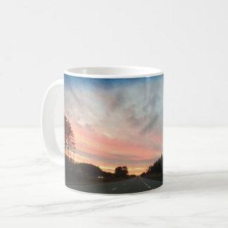 Cotton Candy Sunset Coffee Mug