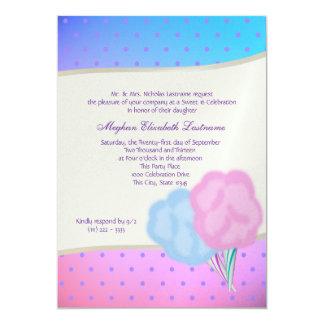 Cotton Candy Sweet Sixteen Birthday Card