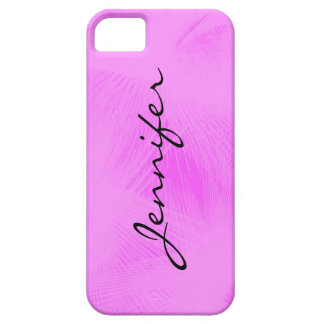 Cotton candy swirl personalized phone case