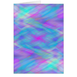 Cotton Candy Textures - Heliotrope & Blue Greeting Card