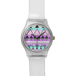 Cotton Candy Tribal Wrist Watches