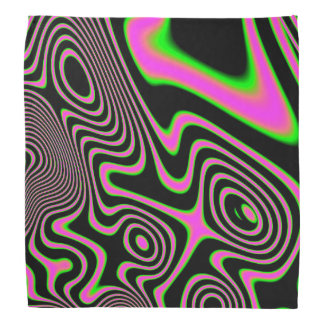 Cotton candy Trippy Abstract Kerchief