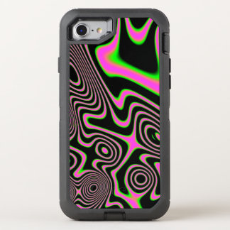Cotton candy Trippy Abstract OtterBox Defender iPhone 8/7 Case