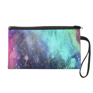 Cotton Candy Wristlet