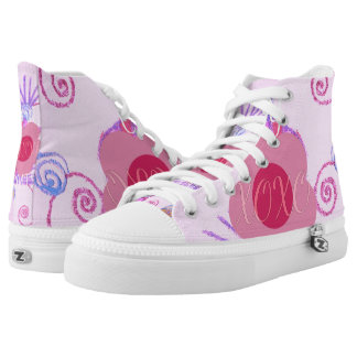 Cotton Candy XOXO Princess wear your latest style High Tops