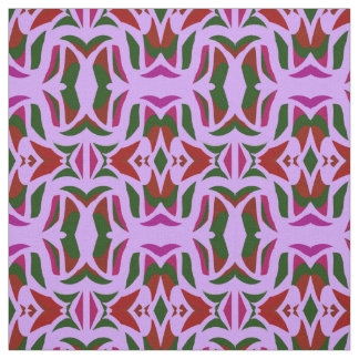 Cotton Fabric-Crafts-Green,Pink,Red, Purple Fabric