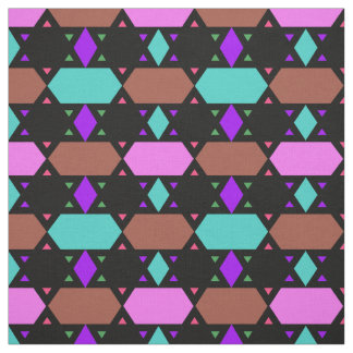 Cotton Fabric-Crafts-Home-Pattern-Multi-Colored Fabric