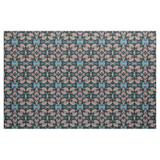 Cotton Fabric-Crafts-Home-Pink/Blue/Black Fabric