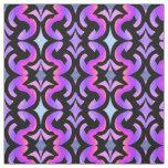 Cotton Fabric-Crafts-Pink,Black,Blue,Purple Fabric