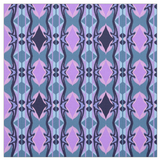 Cotton Fabric  -Crafts-Pink/Blue/Lavender