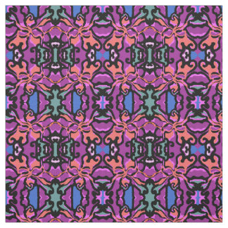 Cotton Fabric-Crafts-Purple/Peach/Blue/Green/Black Fabric