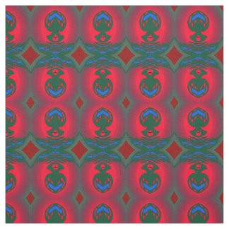 Cotton Fabric-Crafts-Red/Green/Blue Fabric