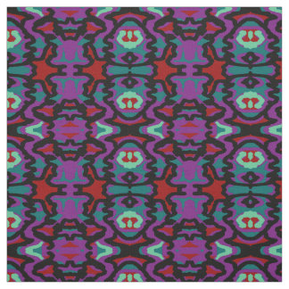 Cotton Fabric-Red,Black,Purple,Teal,Turquoise Fabric