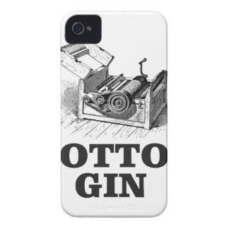 cotton gin bW Case-Mate iPhone 4 Cases