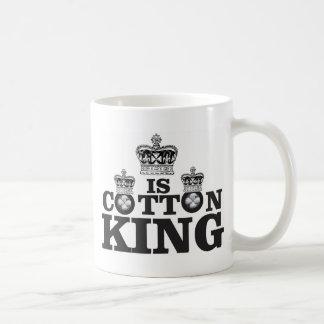 cotton king art coffee mug