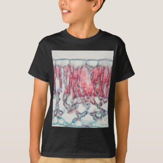 Cotton leaf under the microscope T-Shirt