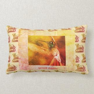 """Cotton Lumbar Pillow 13"""" x 21"""" CUSTOMIZABLE"""