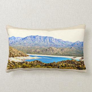 Cotton Lumbar Throw Pillow - Bartlett Lake