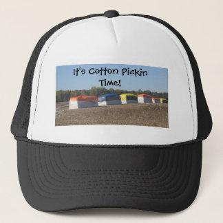 Cotton Pickin Time Trucker Hat