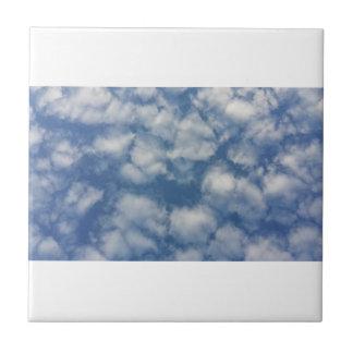Cotton sky tile