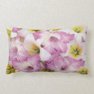 cotton throw pillow lumbar pillow 13x21